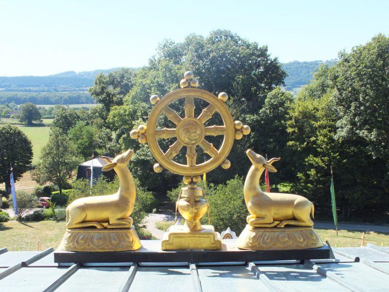 Les Voies du Bien-être dans un monastère Bouddhiste en mars 2017 @ Château de Plaige  | La Boulaye | Bourgogne Franche-Comté | France